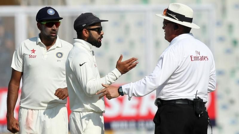 The umpires had to intervene, after Virat Kohli and Ben Stokes got exchanged a few war of words on Saturday. (Photo: BCCI)