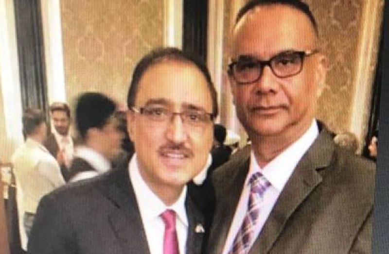 Jaspal Atwal has also been photographed with the Canadian Minister of Infrastructure and Communities Amarjeet Sohi in Mumbai on February 20. (Photo: ANI | Twitter)