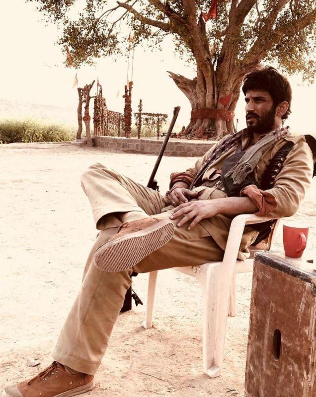 Sushant Singh Rajput's look in 'Sonchiriya'.