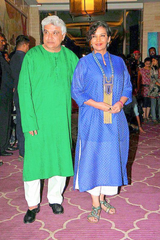 Javed Aktar and Shabana Azmi