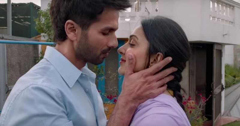 Shahid and Kiara in the still from the film.