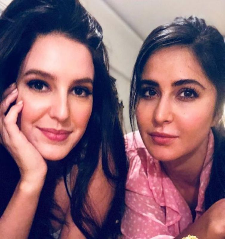 Katrina Kaif's selfie with sister Isabelle.