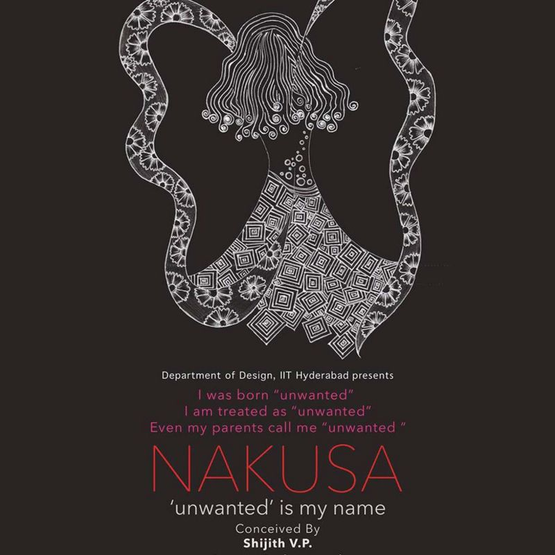 'Nakusa' (unwanted) girls are experiencing discrimination and socio-psychological problems of an unimaginable magnitude