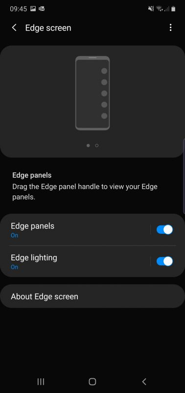 Edge Screen