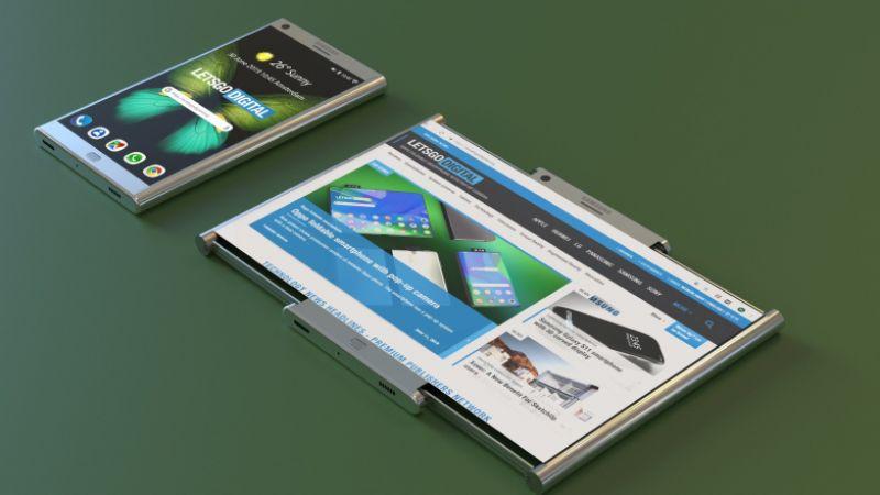 Samsung Galaxy Roll concept