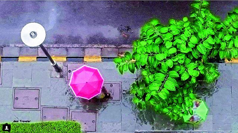 A photograph taken in Gurgaon by blogger N. Prasad
