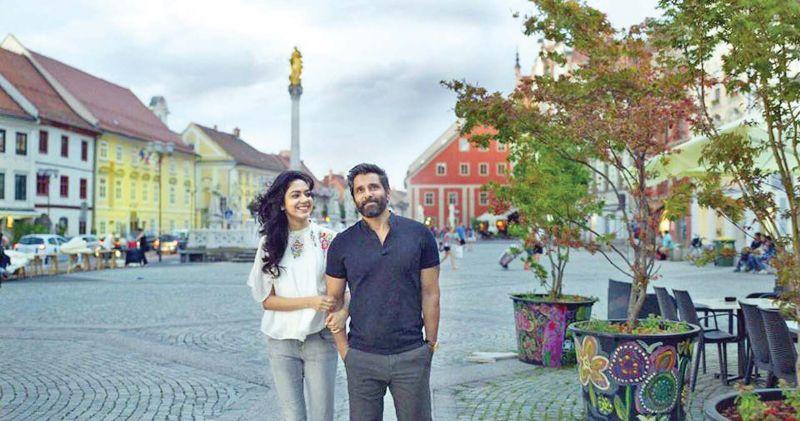 Ritu Verma and Vikram in DN