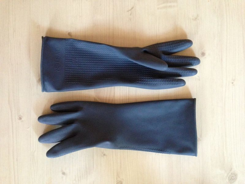 Gloves are perfect to remove pet hair