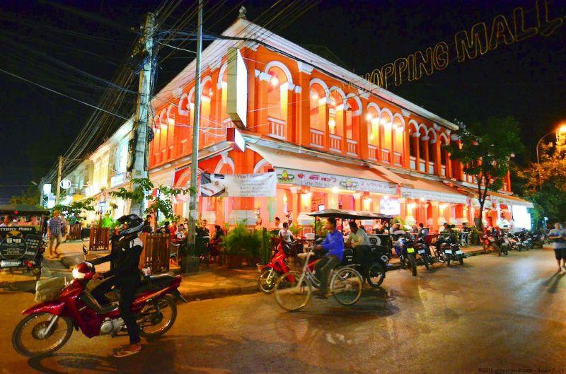 Nightlife at Siem Riep