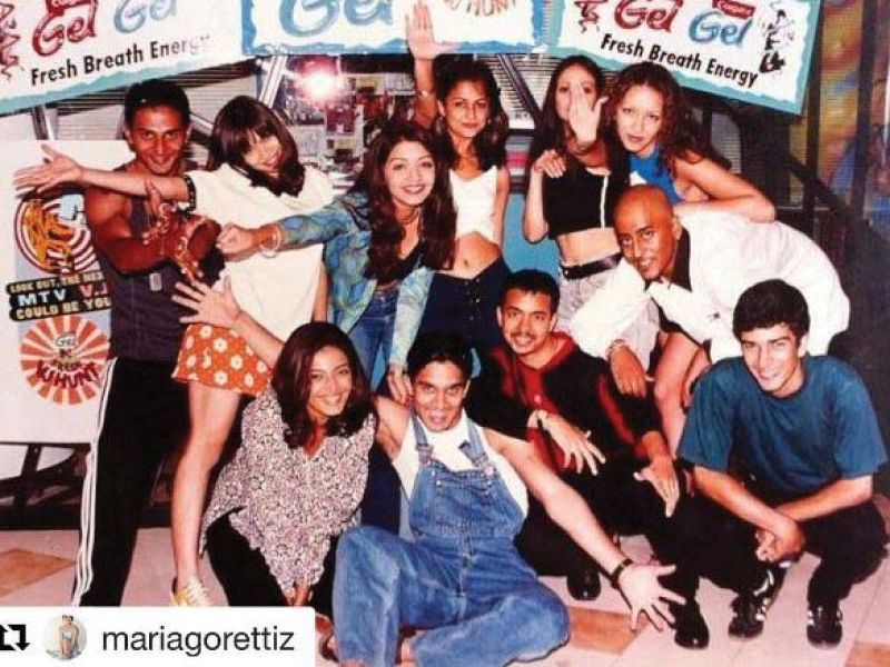 Did Nikhil Chinapa post a picture from 20 years ago? To commemorate his first VJ Hunt! The DJ may have now become popular, but he took sometime to cherish his roots by reposting actress, model and fellow VJ Maria Goretti's picture which also sees Mini Mathur, Malaika, Amrita Arora, Cyrus Broacha and Cyrus Sahukar. Now, isn't this a warm throwback?