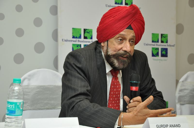 Gurdip Anand, Chairman, Universal Business School
