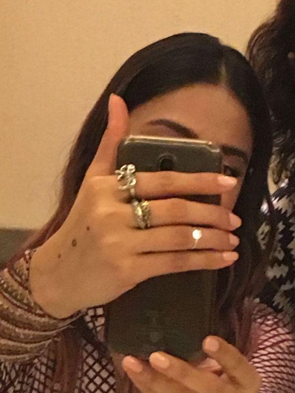 Ileana D'Cruz flaunts her tattoo to DC.