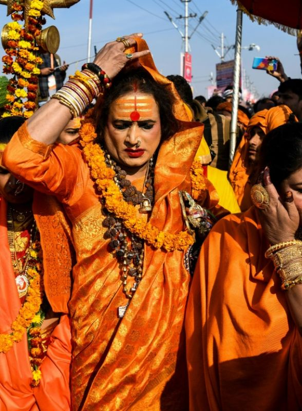 Laxmi Narayan Tripathi has for decades fought to put her transgender community on a par with the rest of society. (Photo: AFP)