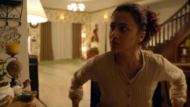 Taapsee Pannu in the still from the film.