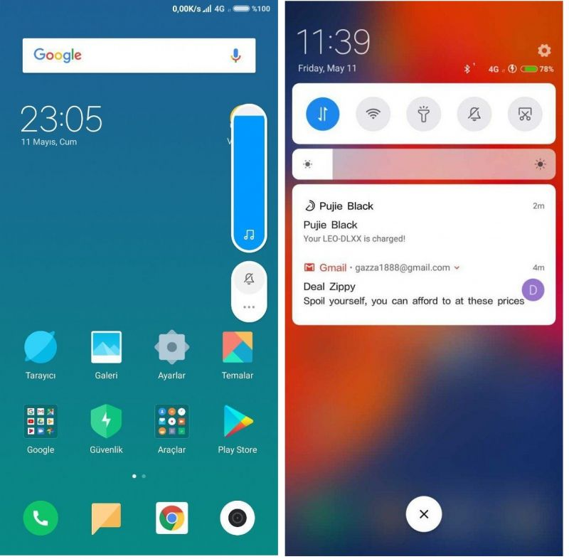 MIUI 10 UI leaked: Android P-style notification shade, bars