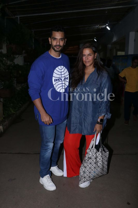 Movie time: 'Kabir Singh' stars Shahid-Kiara, Varun, Vicky watch the