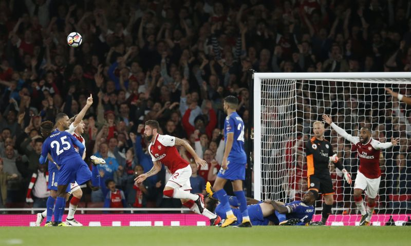 The presence of Olivier Giroud and Alexandre Lacazette has given the Gunners some real firepower up front. (Photo: AP)