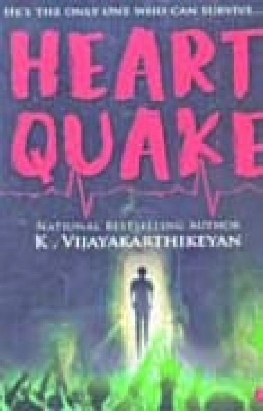 Heart Quake, by  K Vijayakarthikeyan,  published by Rupa Publications India Pvt Ltd., New Delhi, 2019 (price Rs 195/-)