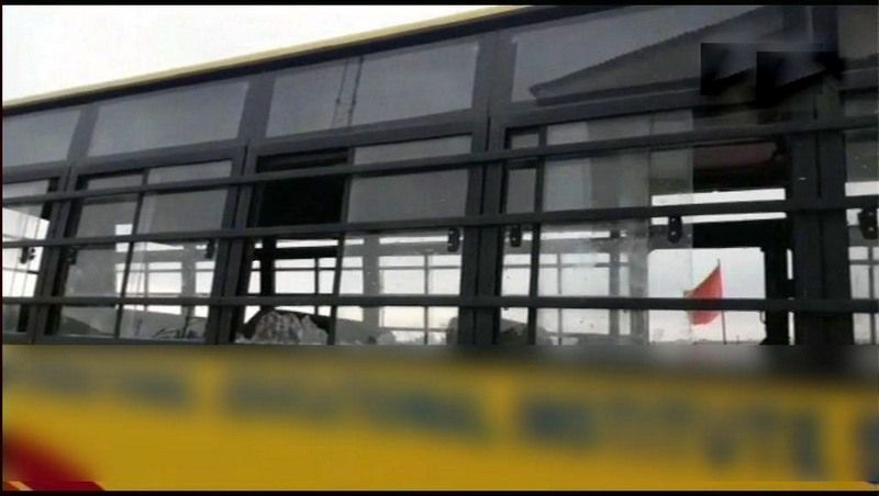 Stones thrown at school bus in Shopian, 2 students injured