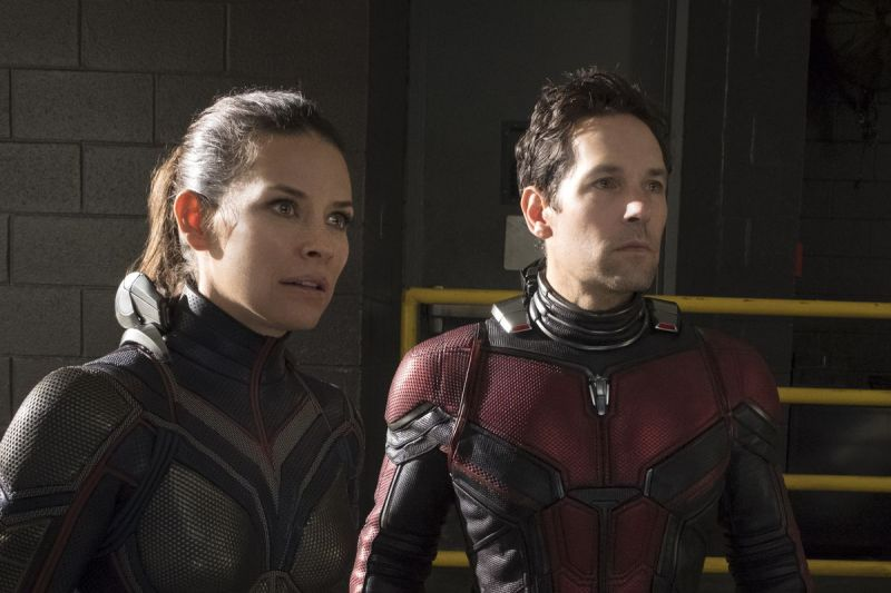 Paul Rudd and Evangeline Lilly in the stilll from the film.
