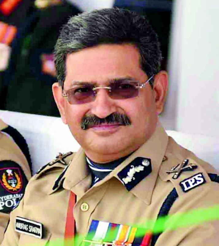 Outgoing DGP Mr Anurag Sharma had been appointed as the adviser to government on internal security.