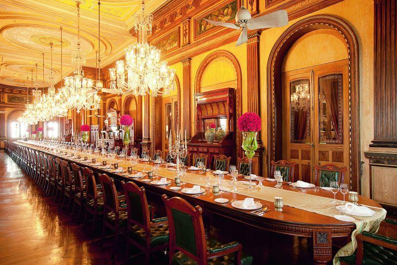 Kamal Kasturi's click of the Falaknuma palace captures the entire grandeur in its true sense