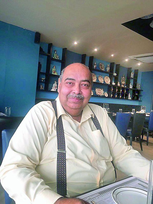 Chef Pradeep Khosla CEO and Corporate Chef Zaiqa e Hyderabad.