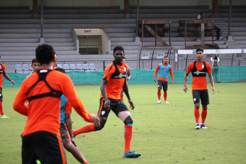 Rowllin Borges could be the key player for India. (Photo: AIFF Media)