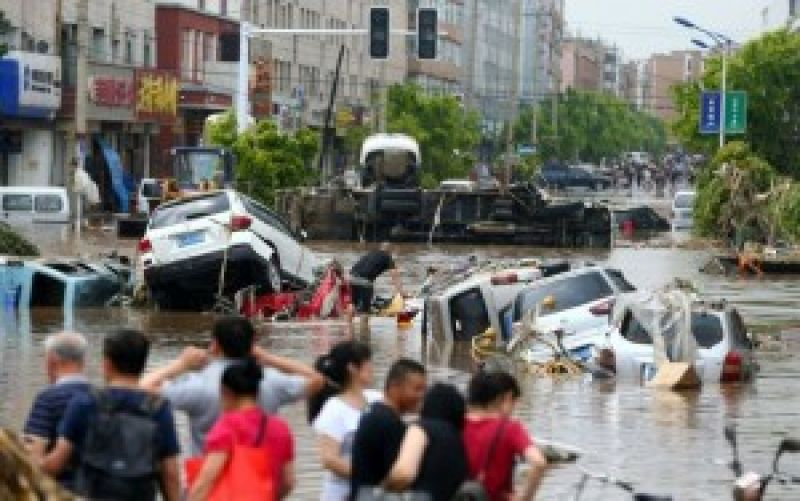 Floods in China beginning in January 2017 impacted 14.9017 million people in ten provinces of which Hunan was hardest hit. (Photo: AFP)