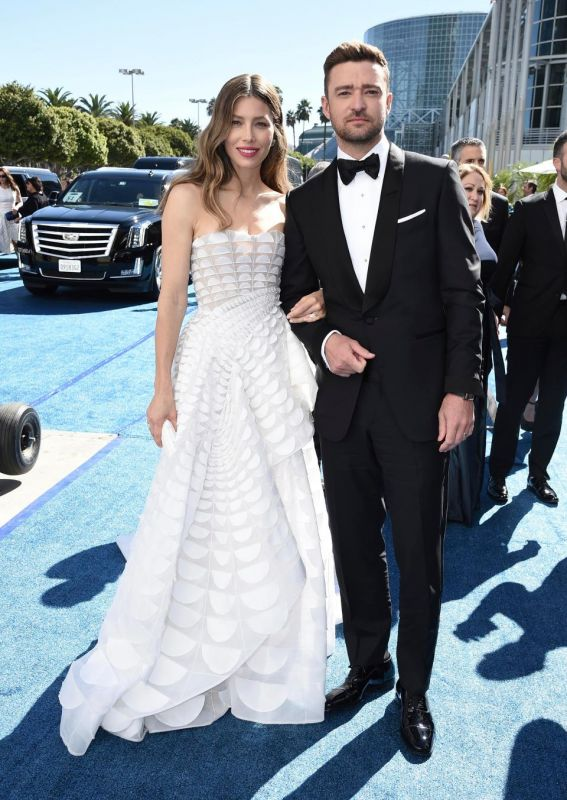 Jessica Biel with husband Justin Timberlake (Photo: AP)