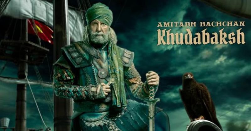 Amitabh Bachchan as Khudabaksh in YRF's 'Thugs Of Hindostan'.