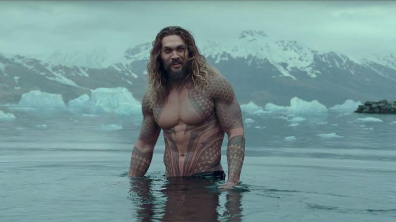 Arthur Curry/Aquaman in Jutice League.