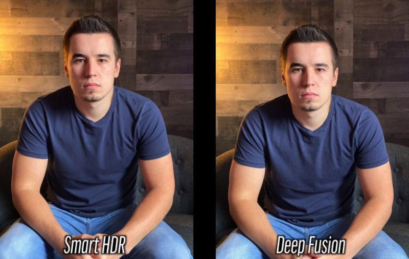 iPhone 11 Pro Deep Fusion sample shots