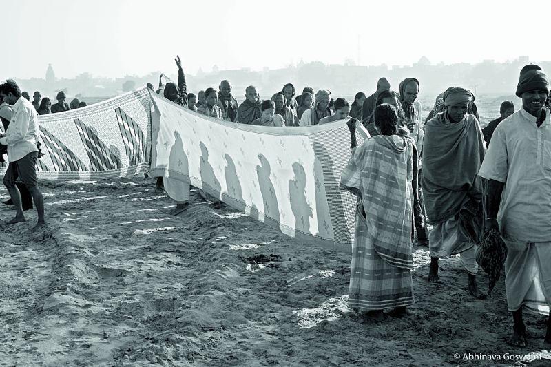 Sari ceremony by Gujaratis