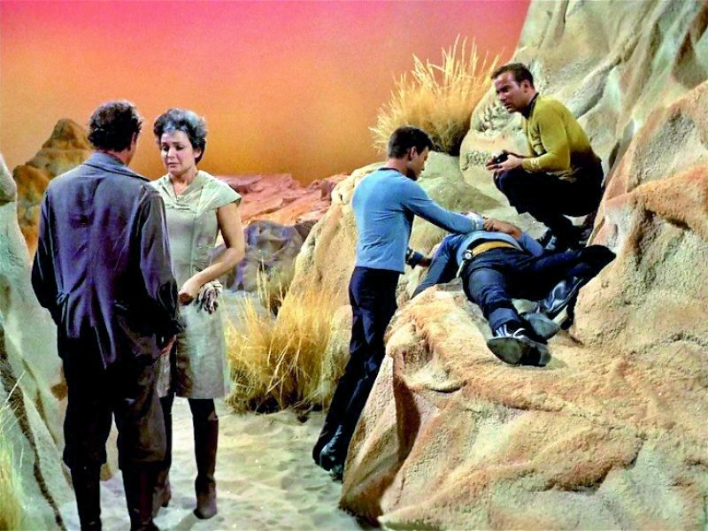 Star Trek: When Star Trek first debuted as a television show in the 1960s, it  primarily used physical effects. It's movie reboot franchise, as seen below, includes a lot of CGI effects.