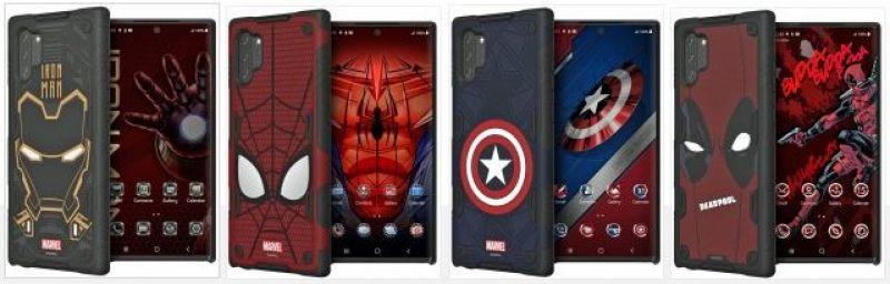 Samsung galaxy note 10 Marvel cases
