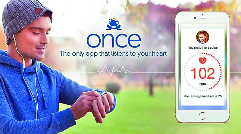 French-born dating service Once seeks to match you using real-life human matchmakers and also has a Heartbeat feature