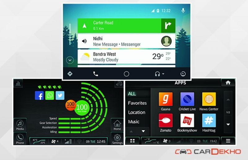 Mahindra XUV 500 Apps