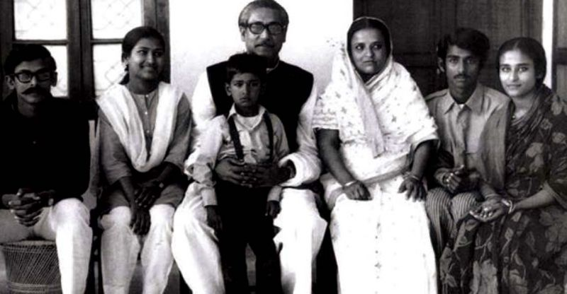 A picture from the Hindi translation of the unfinished memoir of Bangabandhu Sheikh Mujibur Rahman that was jointly released by Modi and Hasina.
