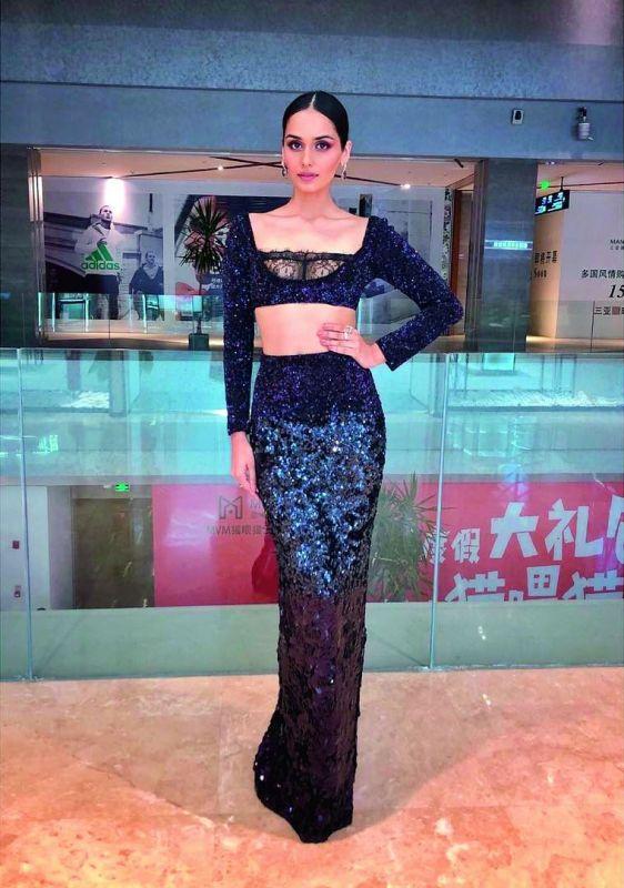 Miss World Manushi Chhillar