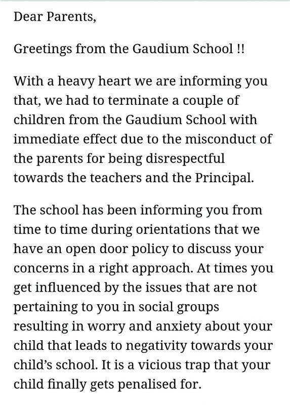 Hyderabad: Parents, school slug it out on WhatsApp link