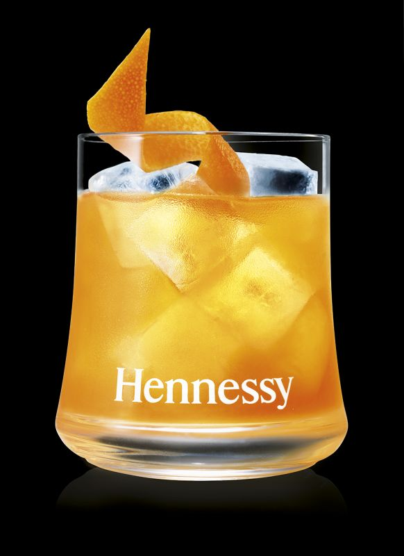 The Hennessy Spiced Orange Smash