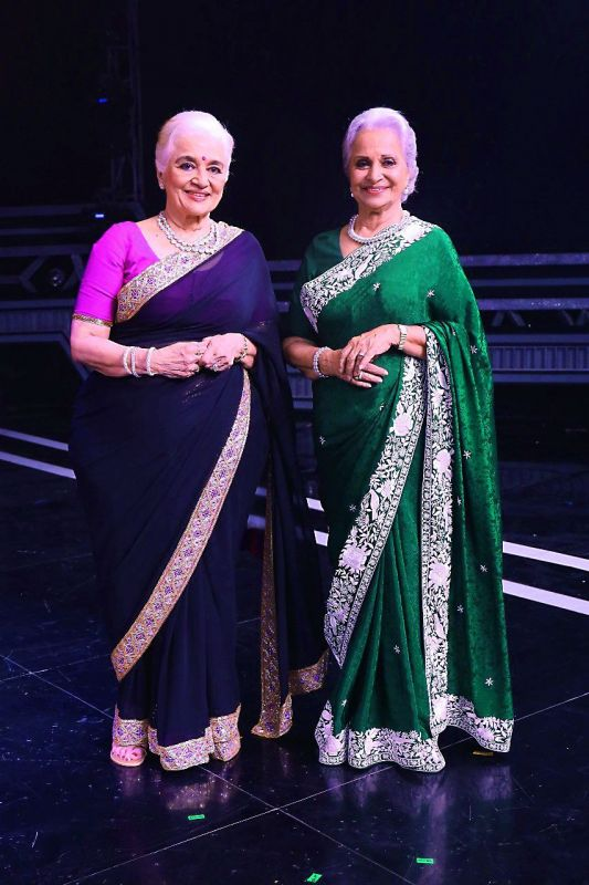 Asha Parekh and Waheeda Rehman