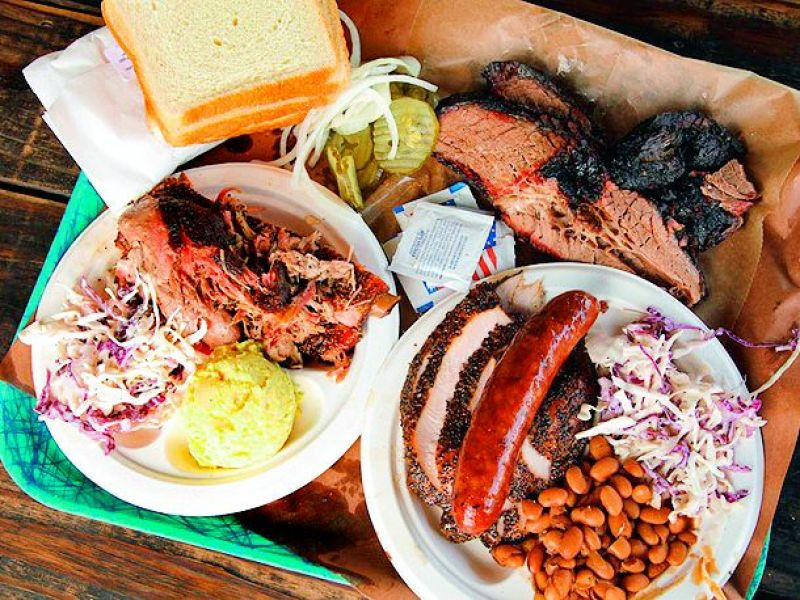 The meats of Texas
