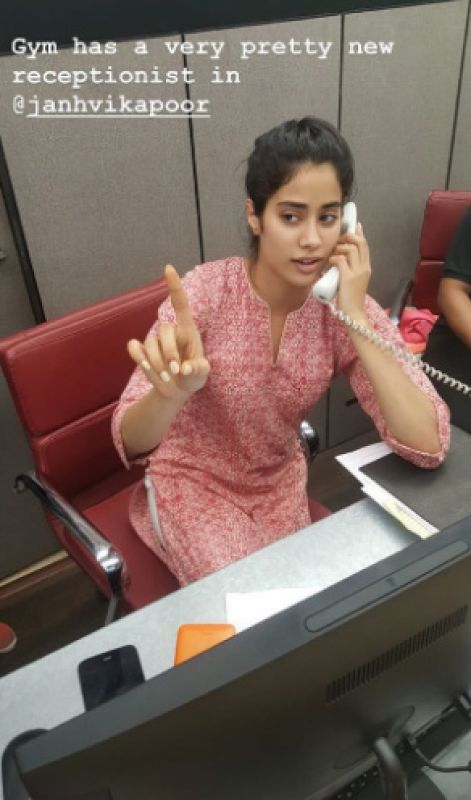 Before debut, Janhvi Kapoor turns receptionist, Katrina Kaif gives her review