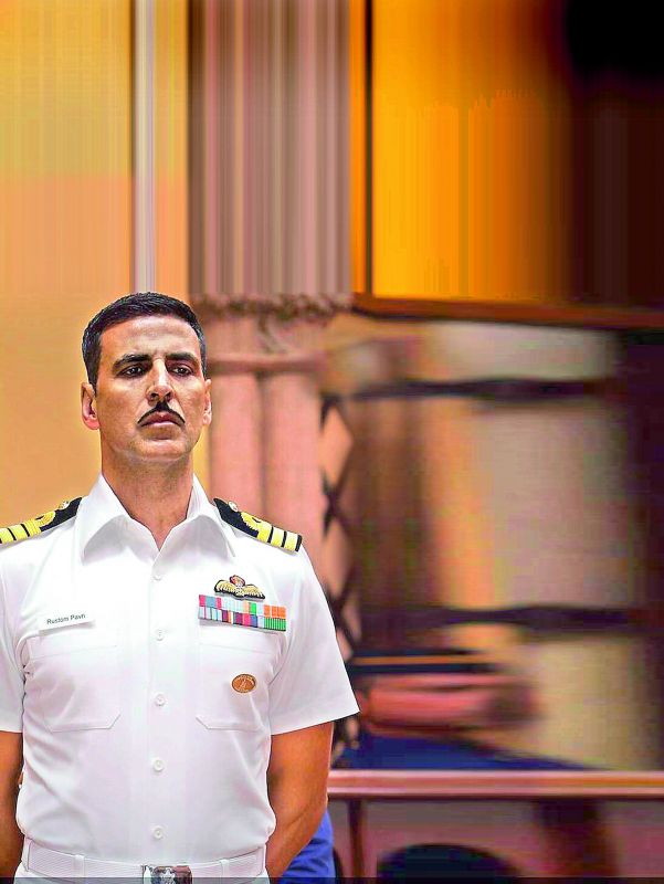 Mountain of a molehill Twinkle Khanna was trolled for putting up Rustom uniform costume for auction.