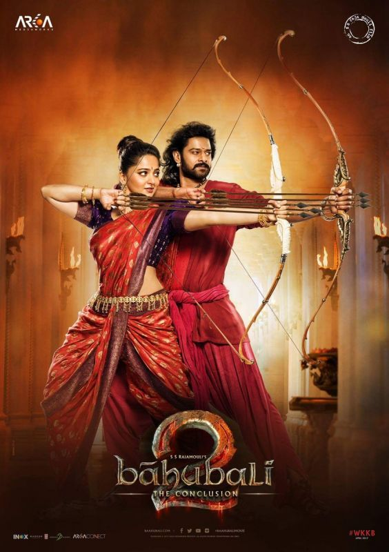 Check out: Prabhas and Anushka's brilliant focus in this new Baahubali 2 poster