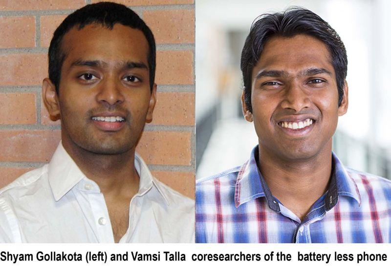battery free phones