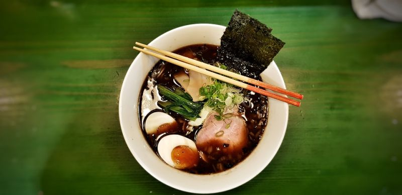 Ramen is Japn's most widely eaten food and is a complete meal in itself. (Photo: Pixabay)