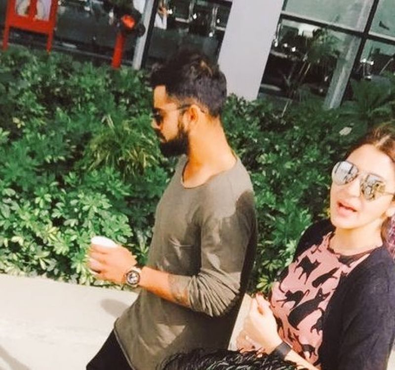 Snapped: Anushka Sharma spends time with Virat Kohli in Chandigarh before match